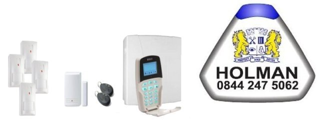 West-Midlands served by Holman Alarm Installers - Risco Intruder Alarms and Home Automation