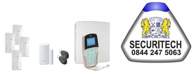 Derbyshire served by Securitech Alarm Installers - Risco Intruder Alarms and Home Automation