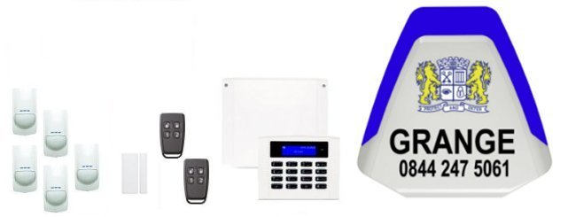 Gloucestershire served by Grange Alarm Installers - Risco Intruder Alarms and Home Automation