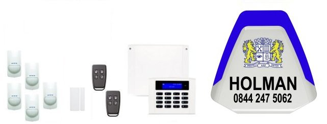 the West Midlands served by Holman Security Systems