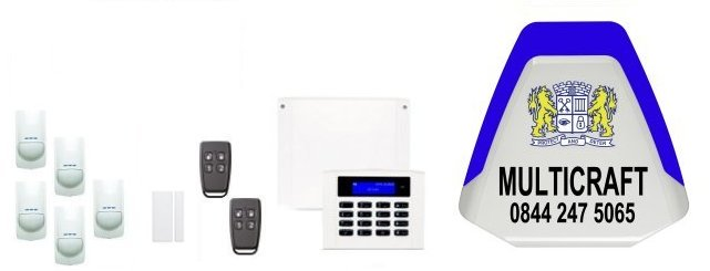 the Northern Home Counties served by Multicraft Alarm Installers - Orisec Intruder Alarms and Home Automation
