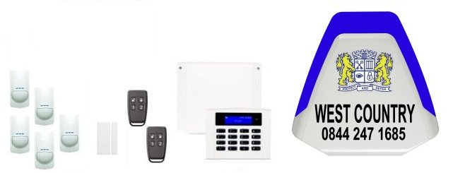 the West Country & Avon served by Western Security Systems