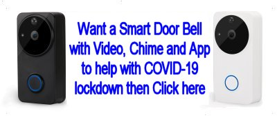Smart Wi-Fi Video Door Bell from Southern Security Systems in East-Sussex